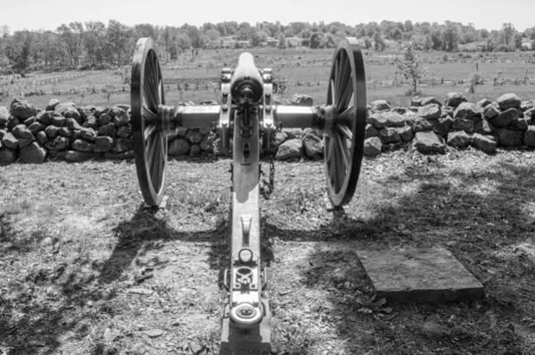 Photograph - On Seminary Ridge   7d02289b by Guy Whiteley