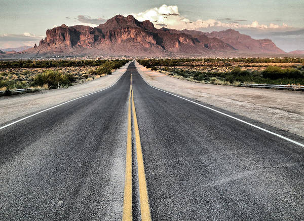 Photograph - On The Arizona Road by Tam Ryan