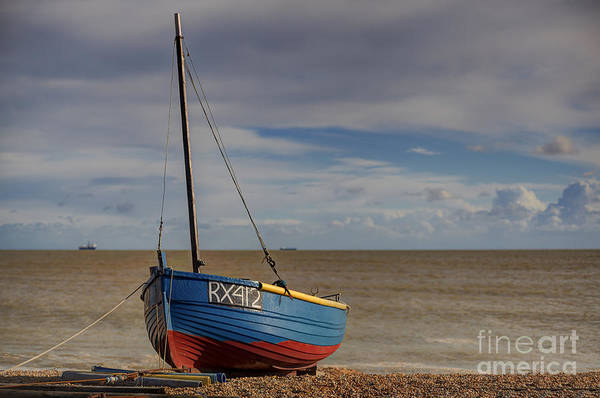 Rigging Photograph - On The Beach by Nigel Jones