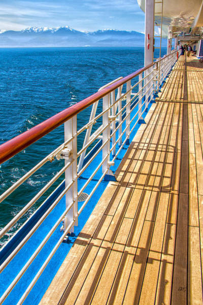 Photograph - On The Cruise Ship Deck by Ben and Raisa Gertsberg