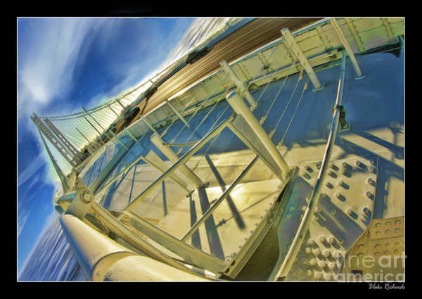 Photograph - On The Deck Of The New San Francisco Bay Bridge by Blake Richards