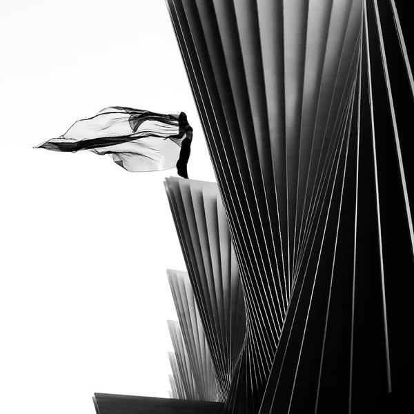 Lines Photograph - On The Edge by Patrick Odorizzi