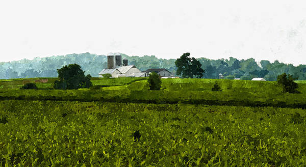Digital Art - On The Farm by Rick Mosher
