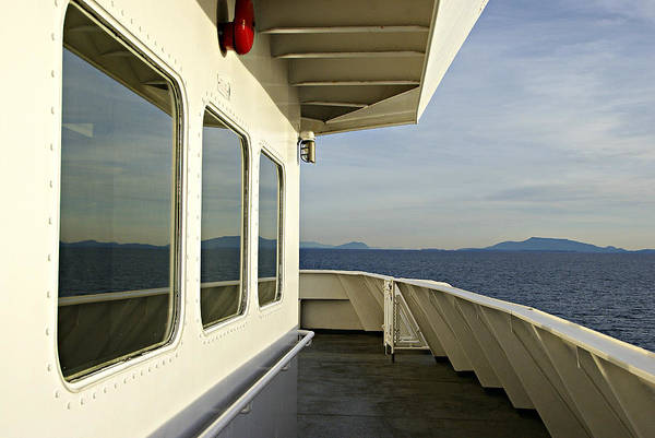 Photograph - On The Ferry by Marilyn Wilson