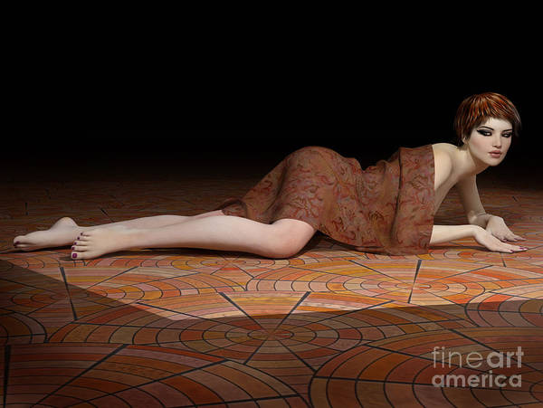 Digital Art - On The Floor by Elle Arden Walby