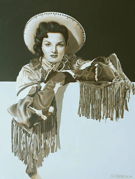 Wall Art - Painting - On The Fringe By K Henderson by K Henderson