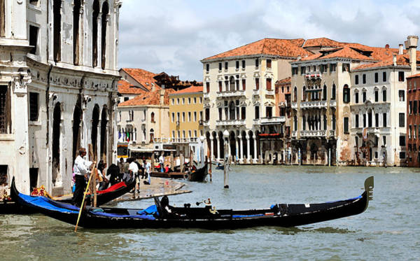 Photograph - On The Grand Canal by Mick Burkey