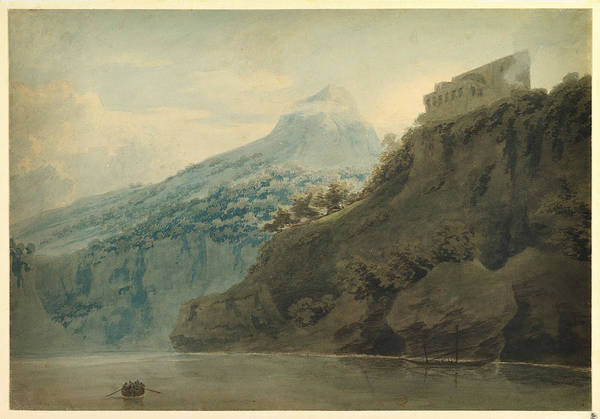 Painting - On The Gulf Of Salerno Near Vietri by Celestial Images