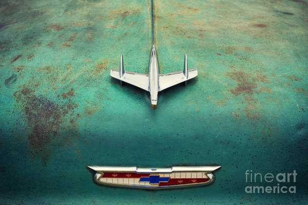 Chevrolet Bel Air Photograph - On The Hood  by Tim Gainey