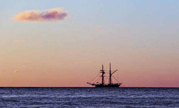 Art Print featuring the photograph On The Horizon by Debbie Cundy