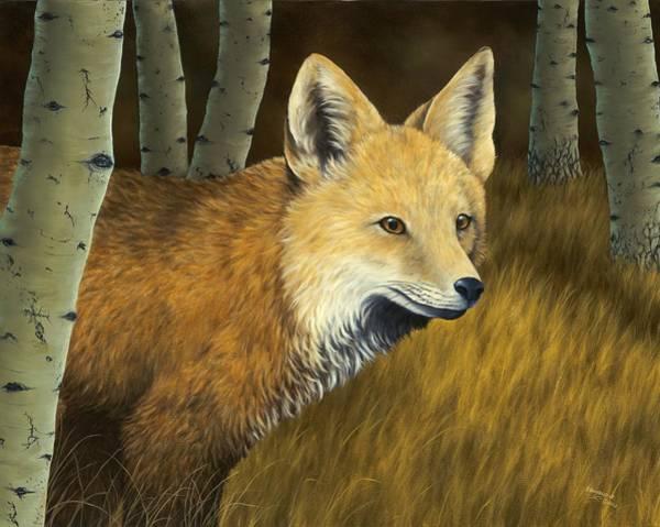 Predator Painting - On The Hunt by Rick Bainbridge