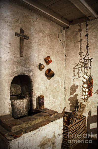 Photograph - On The Kitchen In Carmel Mission by RicardMN Photography