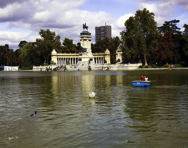 Wall Art - Photograph - On The Lake In Retiro Park - Madrid - Spain by Madeline Ellis