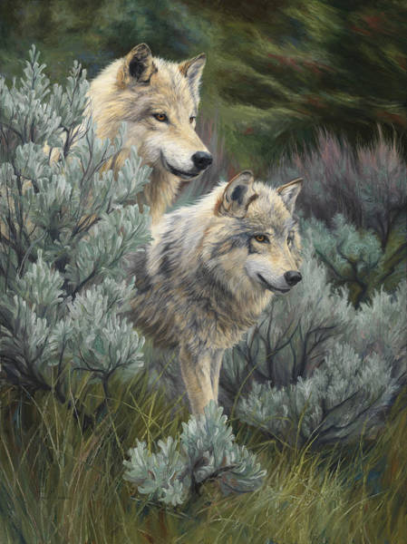 Painting - On The Lookout by Lucie Bilodeau