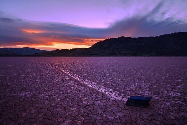 Death Valley Photograph - On The Playa by Chad Dutson