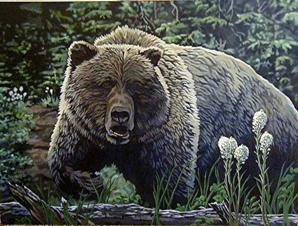 Painting - On The Prowl by Tim  Joyner
