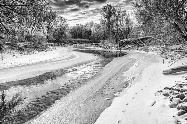 Photograph - On The Riverbank Bw by Garvin Hunter