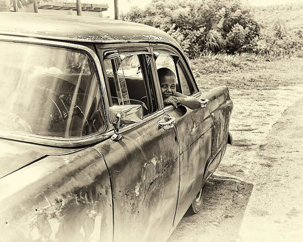 Clunker Wall Art - Photograph - On The Road by Phil Dimashq