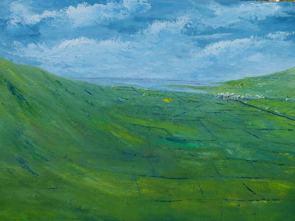 Painting - On The Road To Dingle   Original Sold by Conor Murphy