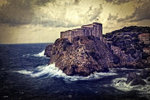 Wall Art - Photograph - On The Rock - Dubrovnik by Madeline Ellis