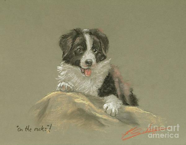 Pastel - On The Rocks by John Silver