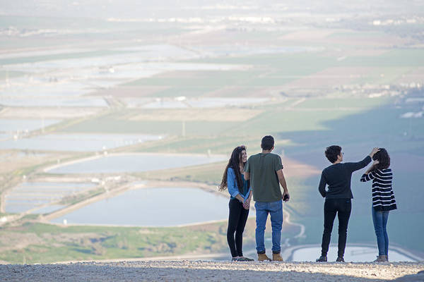 Photograph - On Top Of Mt. Megiddo 3 by Dubi Roman