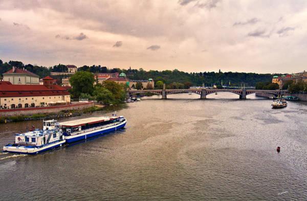 Houses Wall Art - Photograph - On The Vltava River - Prague by Madeline Ellis