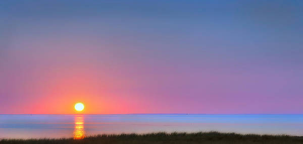 Cape Cod Sunset Photograph - On The Water by Bill Wakeley