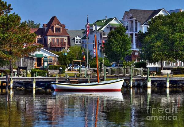 Roanoke Island Wall Art - Photograph - On The Waterfront by Mel Steinhauer