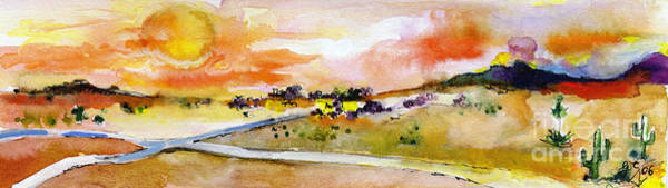 Painting - On The Way To Phoenix by Ginette Callaway