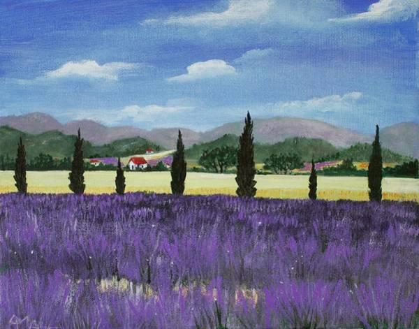 Painting - On The Way To Roussillon by Anastasiya Malakhova