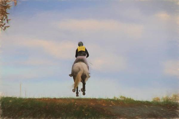 Fairhill Photograph - On To The Next Jump by Alice Gipson