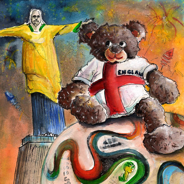 Painting - On Top Of The World Cup by Miki De Goodaboom