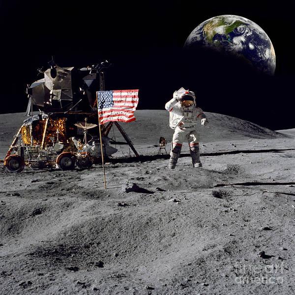 Astronaut Photograph - On Top Of The World by Jon Neidert