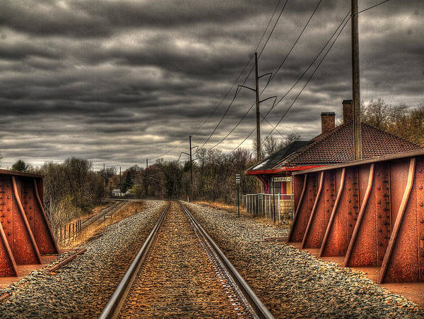 Wall Art - Photograph - On Track by Thomas Young