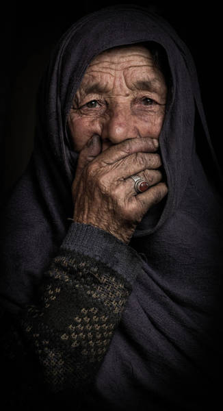Lady Photograph - Once Upon A Time by Natheer Osaif