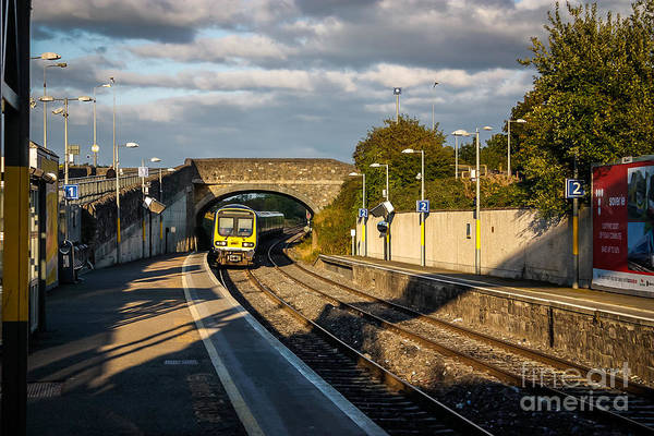 Maynooth Photograph - Oncoming Train by DAC Photo