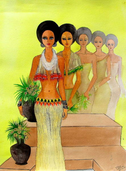 Painting - One Beauty by Mahlet