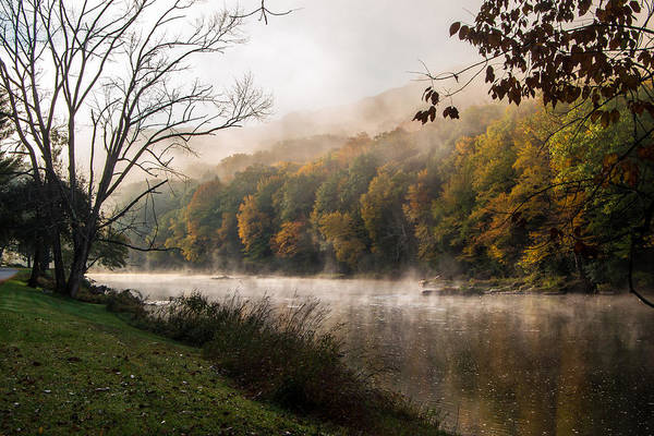 Clarion Photograph - One Foggy Morning by Anthony Thomas