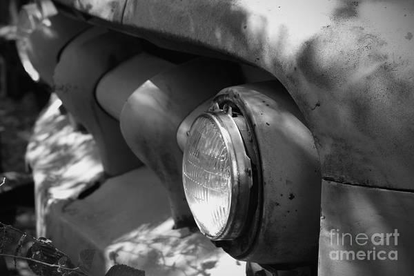 Junkers Digital Art - One Head Light by Joe Russell