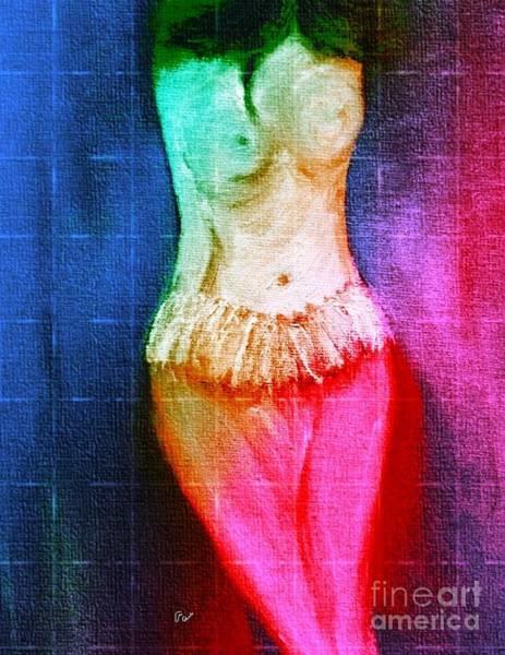 Digital Art - First Art Class Picture by Ann Calvo