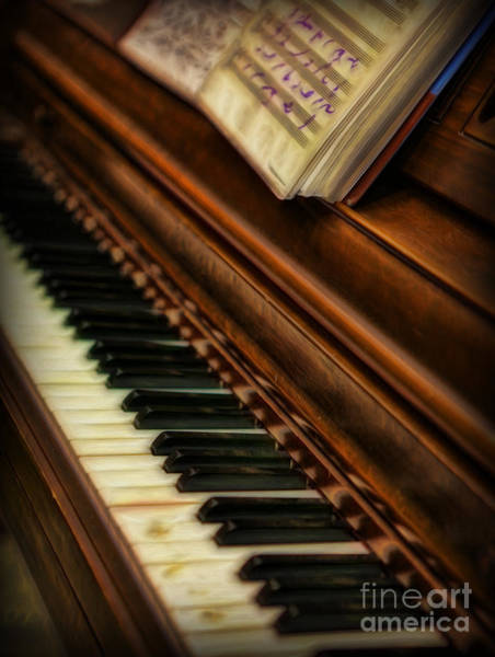 Player Piano Photograph - One Last Song  -  Piano Player - Pianist by Lee Dos Santos