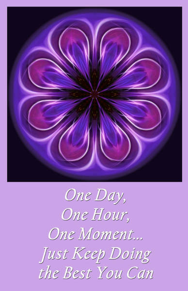 Photograph - One Moment At A Time by Beth Sawickie