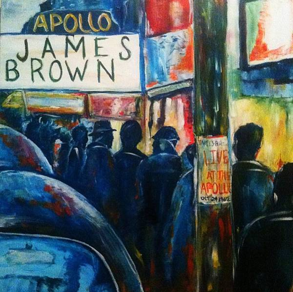 Wall Art - Painting - One Night In Harlem by Ray Johnson
