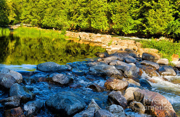 Photograph - One River - Three Flows by Les Palenik