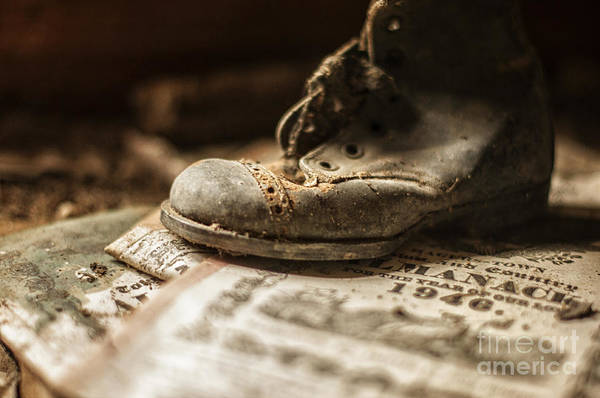 Photograph - One Single Shoe by Terry Rowe
