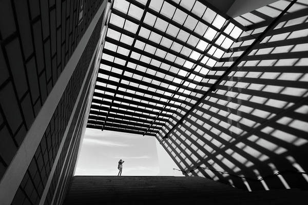 Ceiling Photograph - One Small Day by Paulo Abrantes