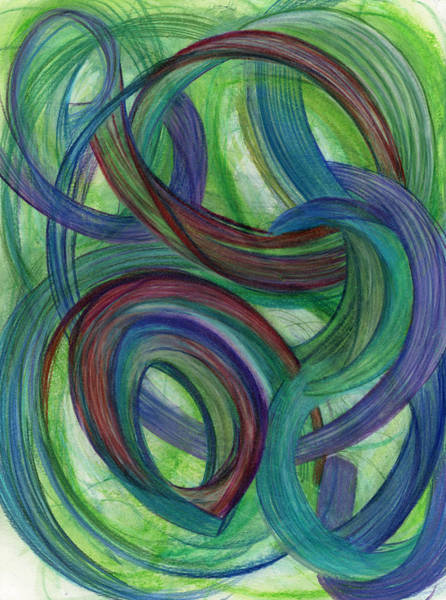 Mixed Colors Drawing - One Stupendous Whole by Kelly K H B