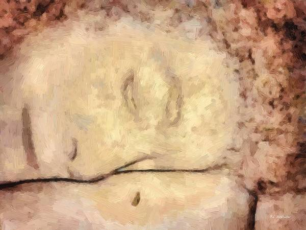 Painting - One Tear On The Pillow by RC DeWinter