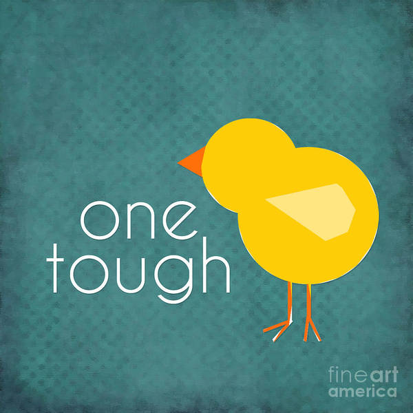 Feminist Digital Art - One Tough Chick by L Bee